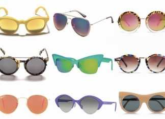 occhiali da sole tendenze