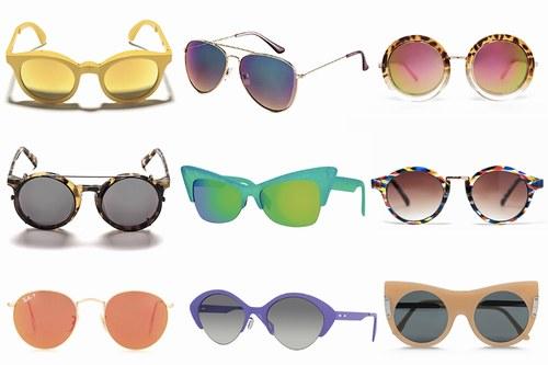 Primavera? L'occhiale da sole la fa da padrone!