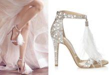 Scarpe ed accessori sposa tendenze 2017