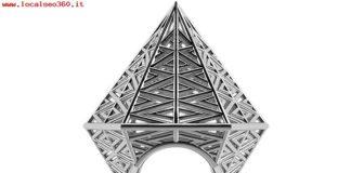 Vojd Studios Donna Umbala Hexagonal Anello In Argento 3D