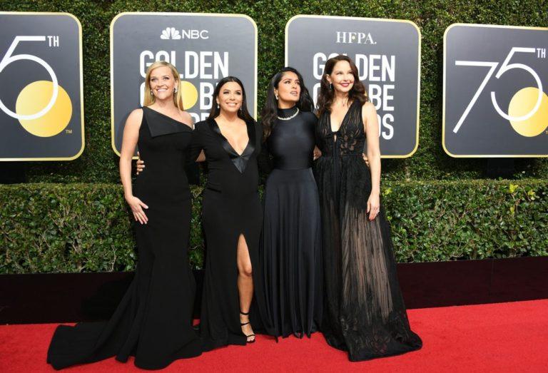 Il tappeto rosso si tinge di nero ai Golden Globes 2018