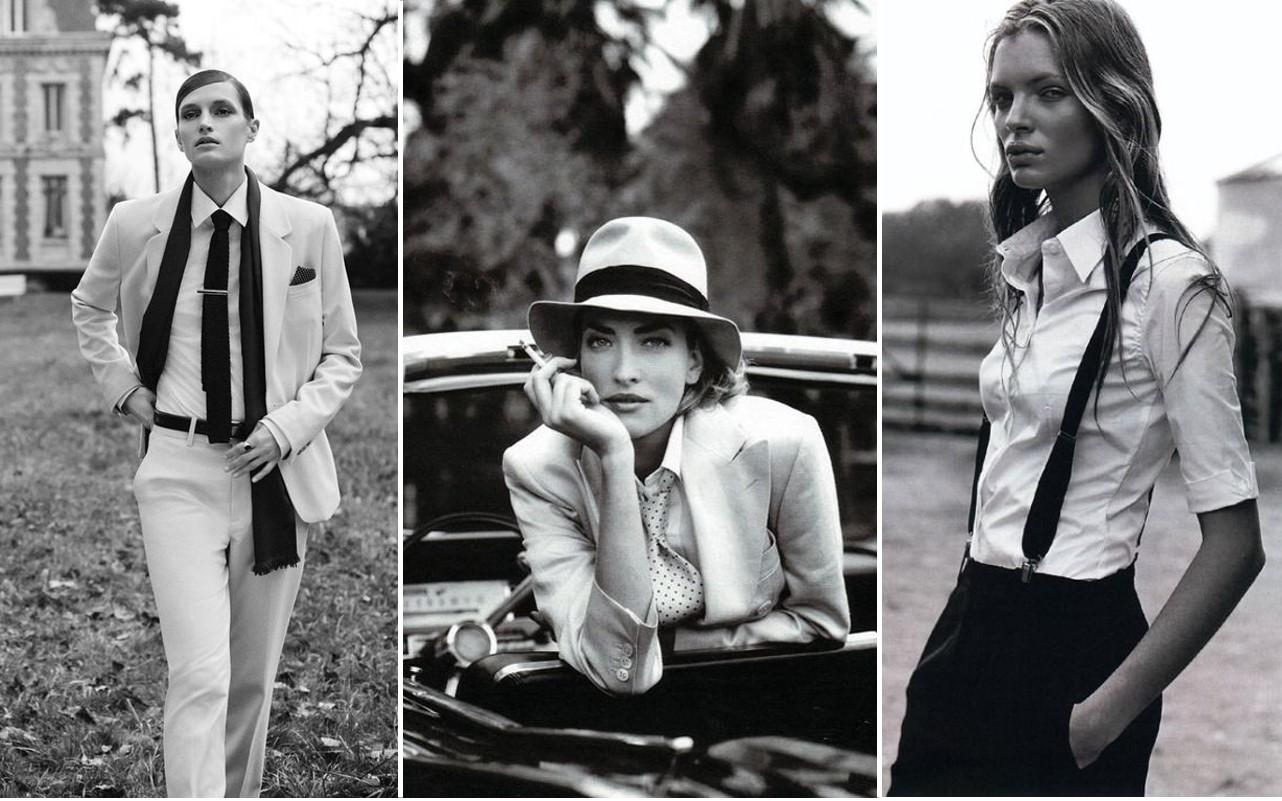 low priced 9cafd ad6ae Stile androgino: lo stile maschile è la moda che non passerà ...