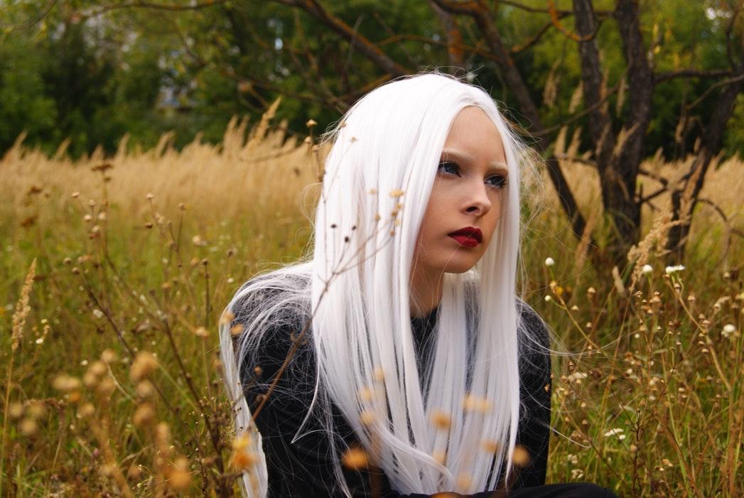 design unico nuova versione negozio ufficiale Capelli bianchi naturali, la nuova tendenza